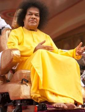 baba yellow robe