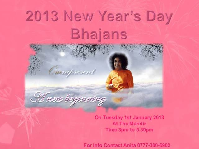 New year 2013 bhajans