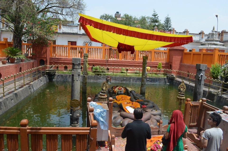 Sleeping floating Vishnu, Budhanikhanta, Nepal.Image.jpg.