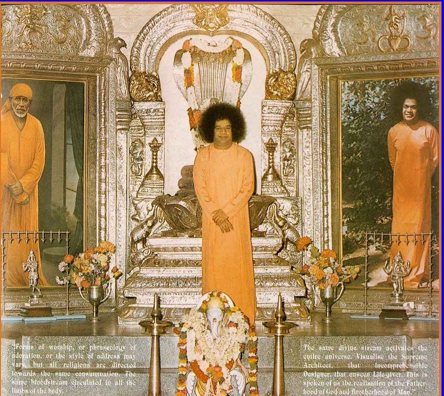 swami in mandir