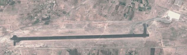 ARIAL VIEW SHIDI AIRPORT